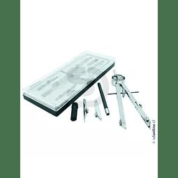 Set Compas Precision Metalico