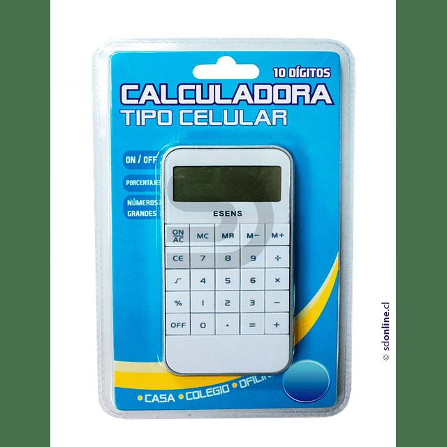 Calculadora Tamaño Celular 10 Digitos