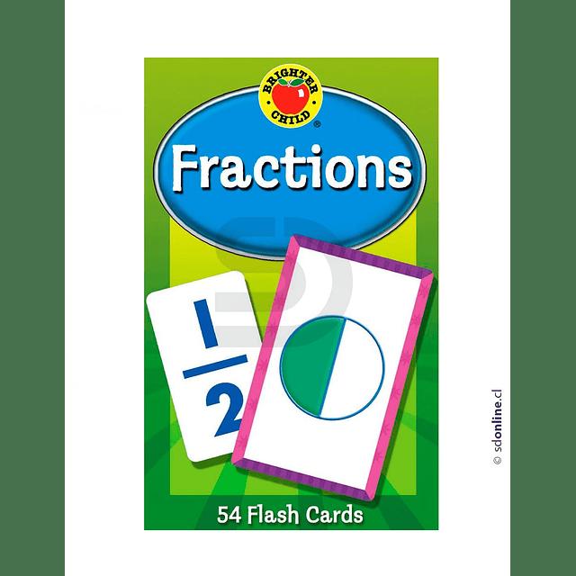 Flash Cards De Fracciones 8.5X13.5Cm