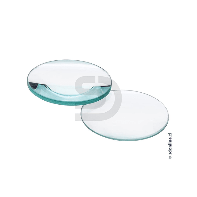 Lente Biconvexo 3D D 50Mm Foco 10Cm