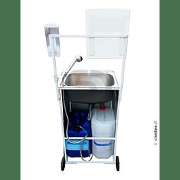 Lavamanos Metalico Sin Dispensadores