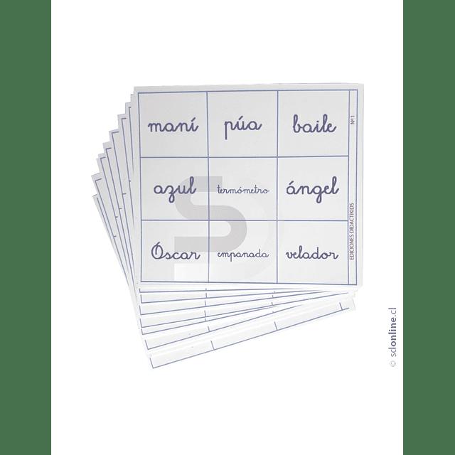Lotería De Ortografia Acentual Volumen 1
