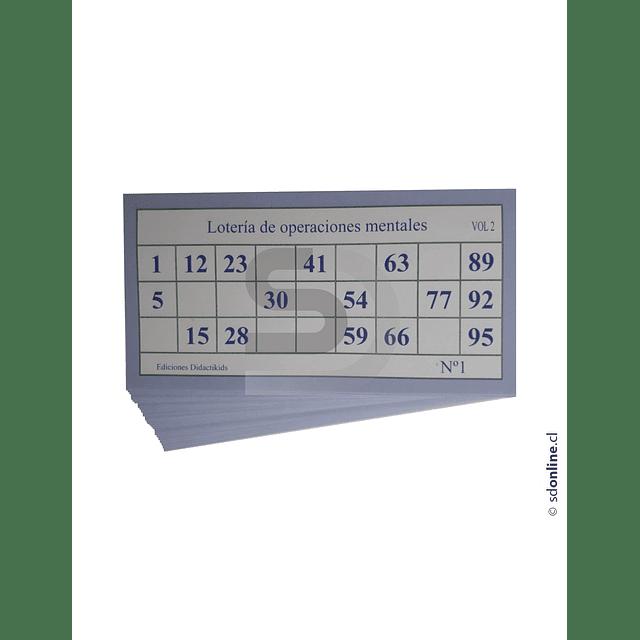 Lotería De Adición Sustracción Multiplicacion Y Division