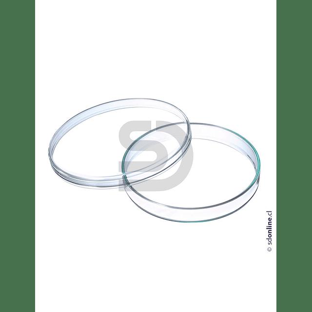 Placa Petri De Vidrio  100X15Mm