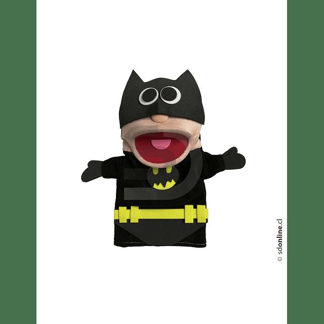 Títeres Super Heroes Buenos Y Malos
