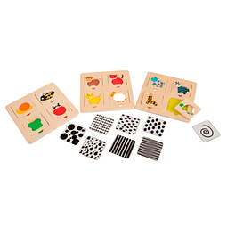 Puzzle Diversion Con Plantillas