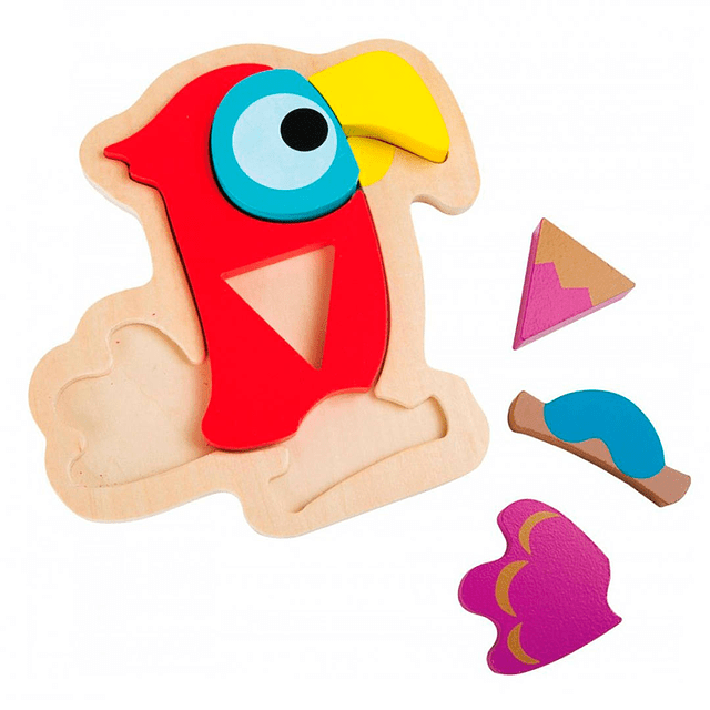 Puzzle Papagayo