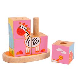 Cubos Ensartable Animalitos