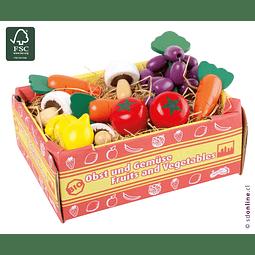 Caja Con Verduras