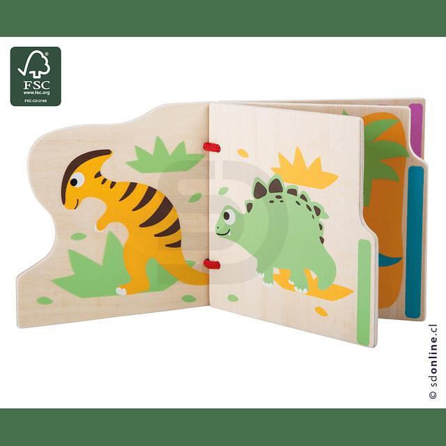 Libro Para Bebés Mis Primeros Dinosaurios