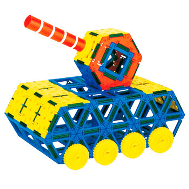 Juego Construcción de Figuras 3D