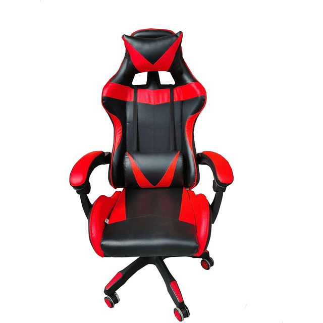 Silla Gamer Ergonómica - Color Rojo