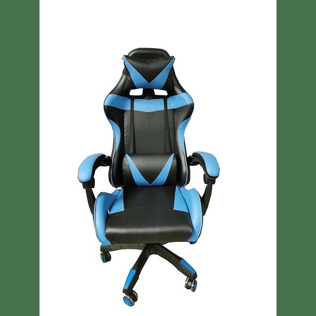Silla Gamer Ergonómica - Color Azul