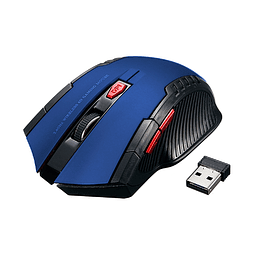 Mouse Gamer Inalámbrico 2.4GHZ - Azul