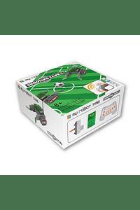 Robot e campo de futebol