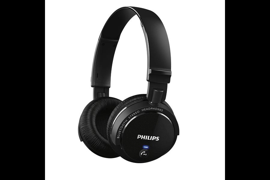 Philips SHB5500 tecnología inalámbrica Bluetooth en la oreja los auriculares estéreo