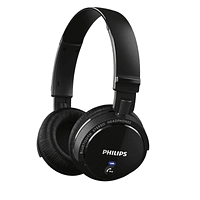 Philips SHB5500 Bluetooth Wireless On Ear Headphones Stereo