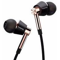 1More Triple Driver Earphone Mic In-Ear (Black & Gold) with Remote