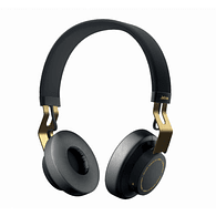 Jabra MOVE Bluetooth Wireless Stereo On Ear Headphones (Black Gold)
