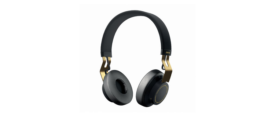 Jabra MOVE Bluetooth Wireless Stereo On Ear Headphones (Black Gold)