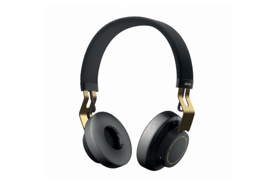 Jabra MOVE Auriculares inalámbricos con auriculares estéreo Bluetooth (oro negro)
