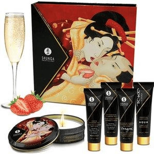 Kit Secretos de la Geisha Frutilla Shunga