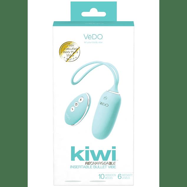 Balita Vibradora recargable c/ control Kiwi