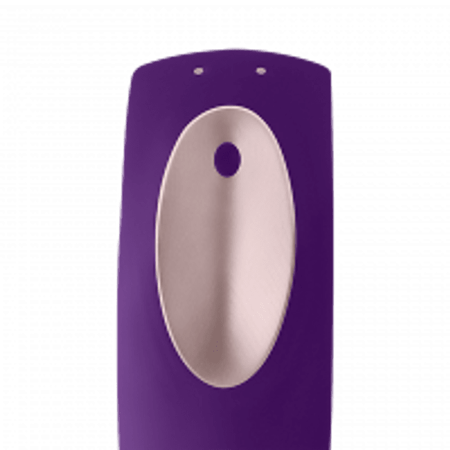 Vibrador Satisfyer Partner Plus c/ control remoto