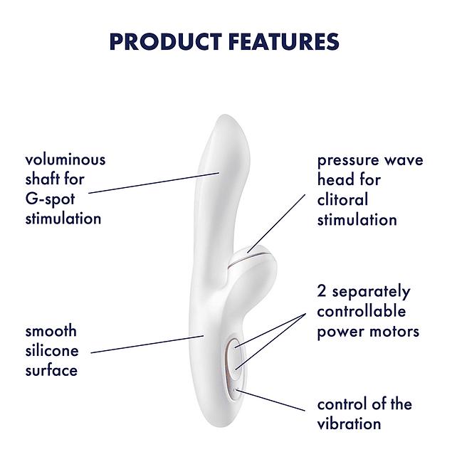 Vibrador Satisfyer Pro + G Spot
