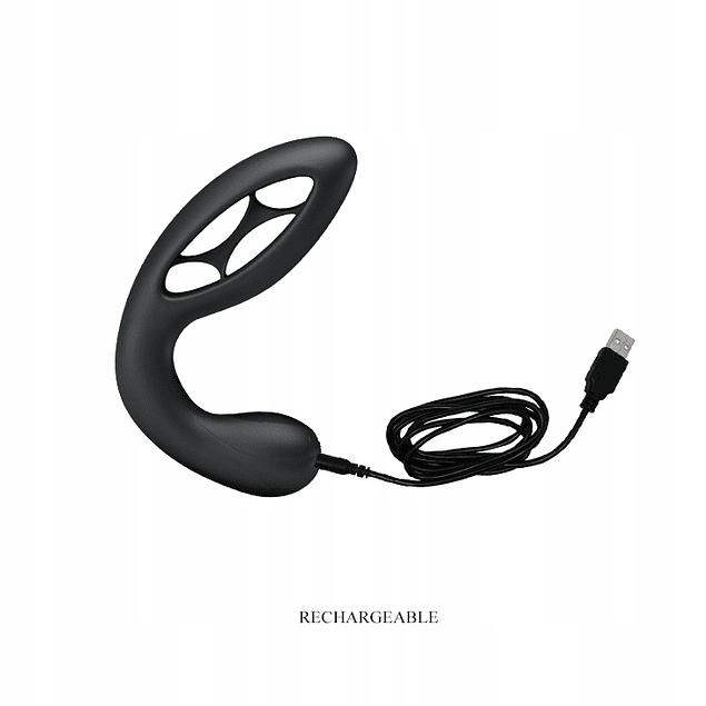 Plug Anal Vibratorio Flexible Recargable