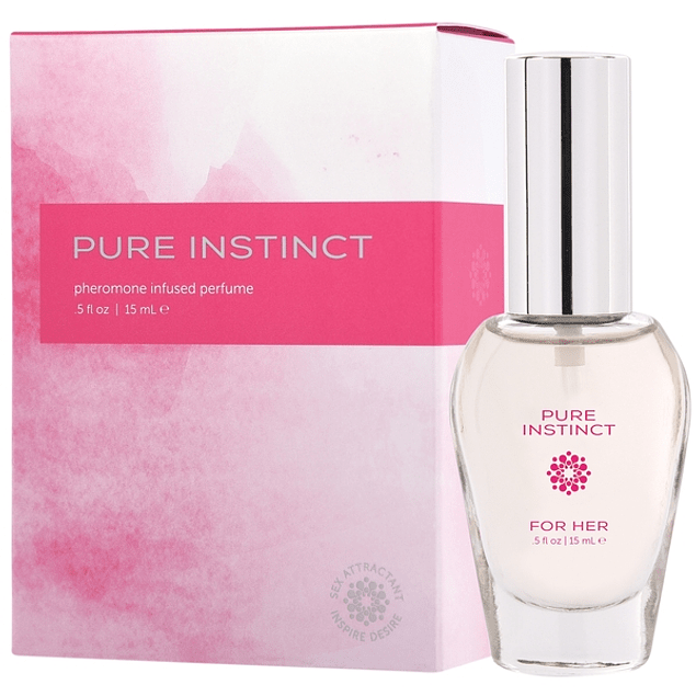 Perfume Femenino c/ Feromonas Pure Instinct para Ella