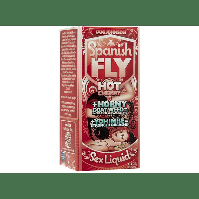 Estimulante Bebestible Spanish Fly Cherry Unisex