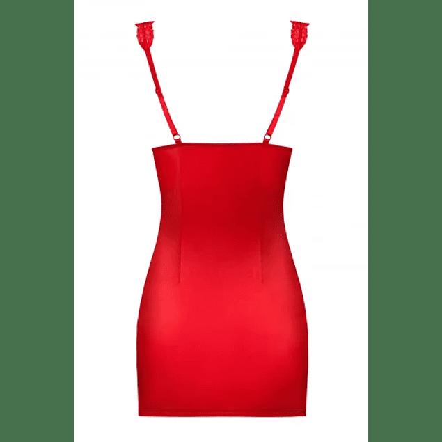 Chemise y Calzón Rojo Secred Obsessive