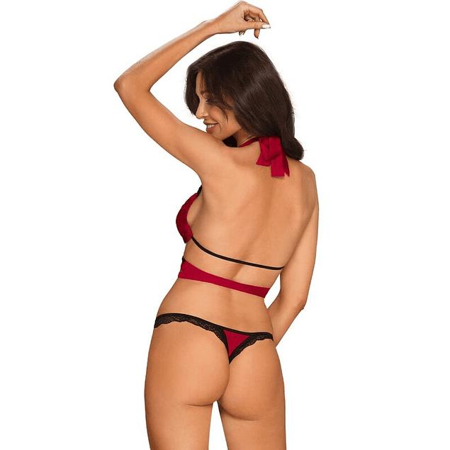 Set 3 Piezas Rojo Sensuelia Obsessive