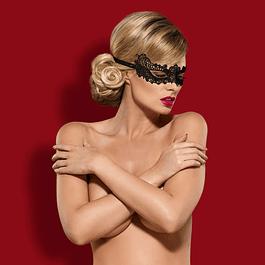 Máscara Unitalla Negra de Guipur Obsessive