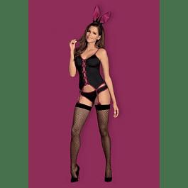 Disfraz de Coneja Negro Obsessive
