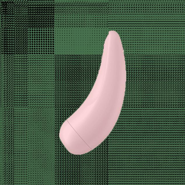 Vibrador c/ pulso de aire Satisfyer Curvy 2 +