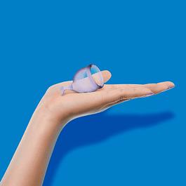 Set de 2 copas menstruales Satisfyer Feel Secure