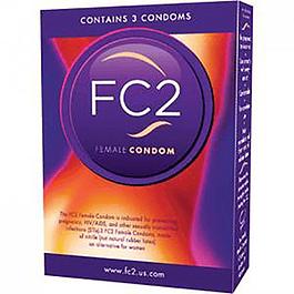 Set de 3 Condones Femeninos FC2