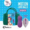 Bolita Vibradora Motion Love Balls FOXY c / Control Remoto