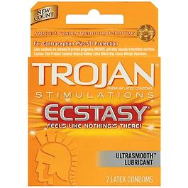 Condón Ecstasy Pack x 3