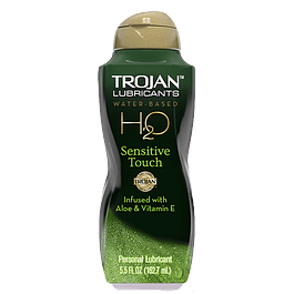 Lubricante Trojan Sensitive Touch Aloe