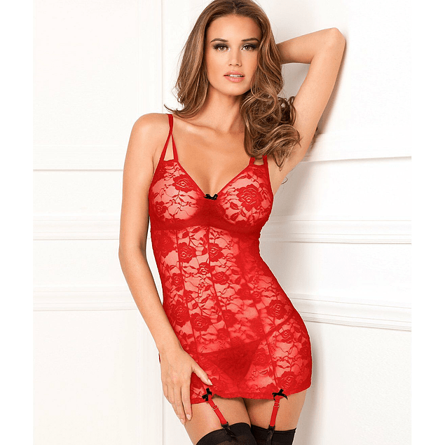 Babydoll Lace Chemise G String