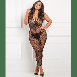 Body Completo con Aberturas Plus Size