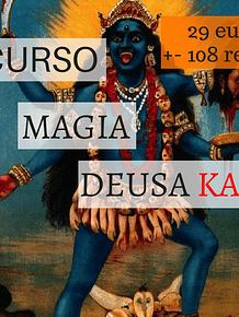 CURSO DE MAGIA PARA TRABALHAR COM DEUSA KALI