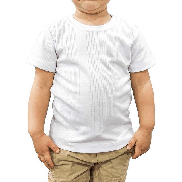 CAMISETA bebé Cuello R - 00010