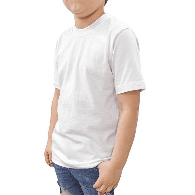 CAMISETA algodón Cuello R - 3526
