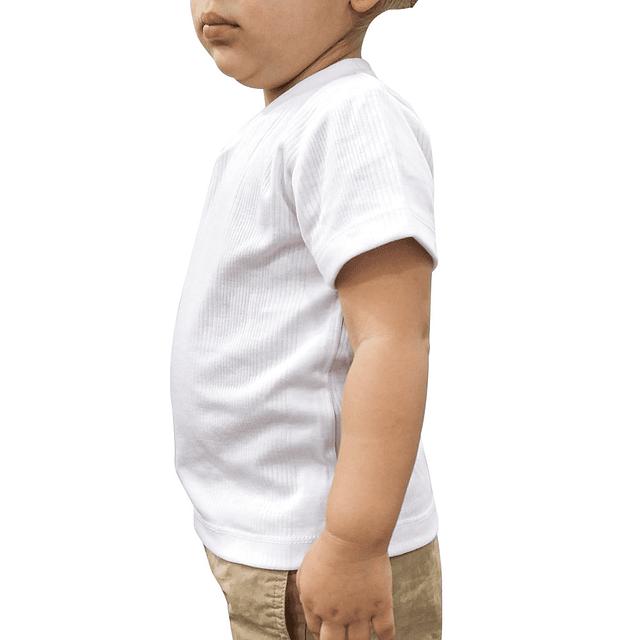 CAMISETA bebé Cuello V - 00020