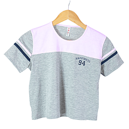 Camiseta Crop talla 14 - 91701