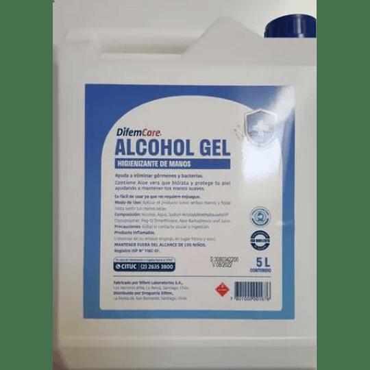 ALCOHOLGEL 70°  5 LITROS